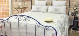 Modelos de camas com visual rústico na decoração