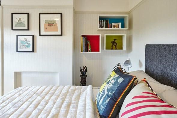 Modelos de nichos na decoração do quarto 001