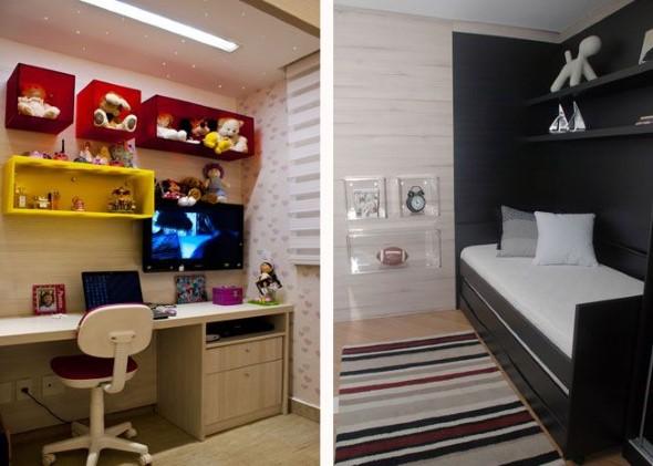 Modelos de nichos na decoração do quarto 004