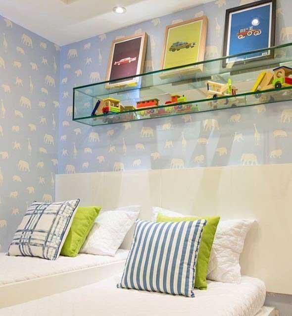 Modelos de nichos na decoração do quarto 008