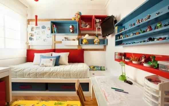 Modelos de nichos na decoração do quarto 011