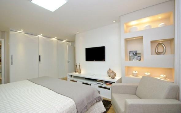 Modelos de nichos na decoração do quarto 013