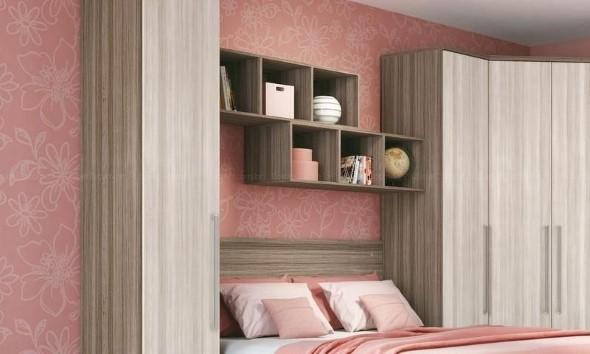 Modelos de nichos na decoração do quarto 014