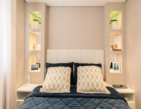 Modelos de nichos na decoração do quarto 015
