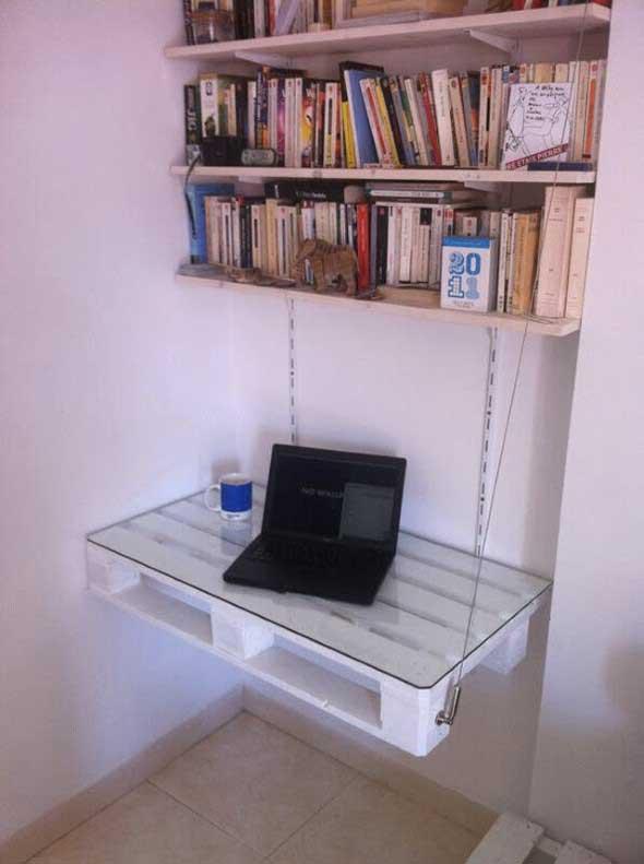 Monte seu home Office com paletes 002
