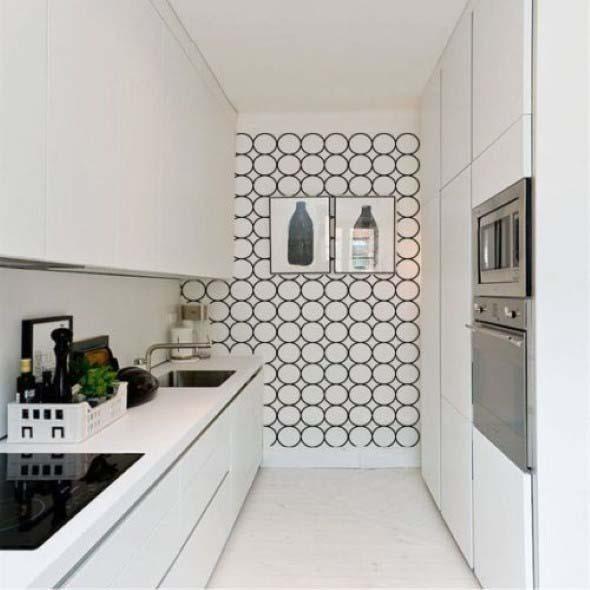 Papel de parede geométrico na decoração 001