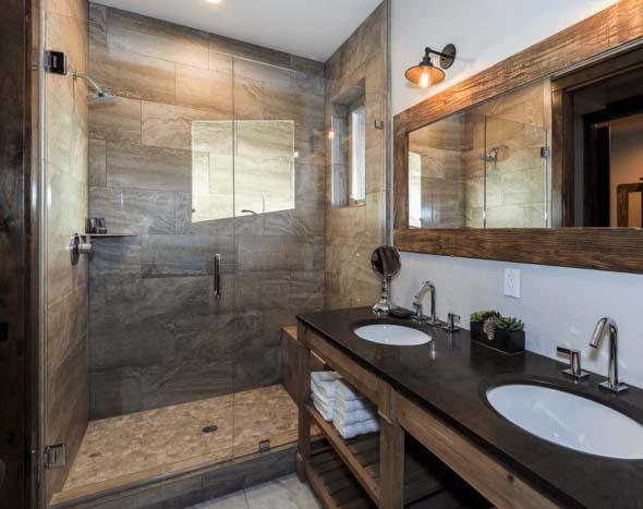 Revestimento de pedras para o banheiro 011
