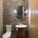 Revestimento de pedras para o banheiro 018