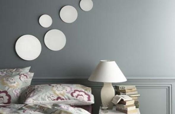 Modelos de espelhos redondos na decoração 001