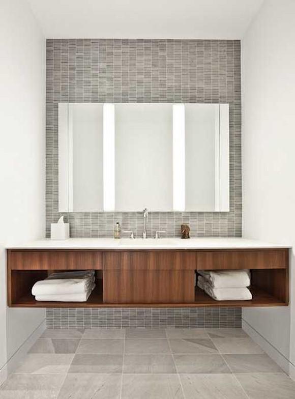 Armarios Banheiros Modernos Lovely 36 banheiros modernos e contempor'neos dicas de cores e