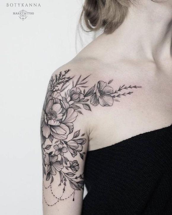 tatauagem flores 16