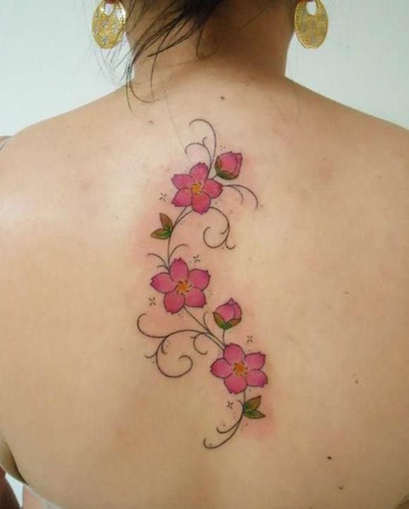 tatuagem flores 10
