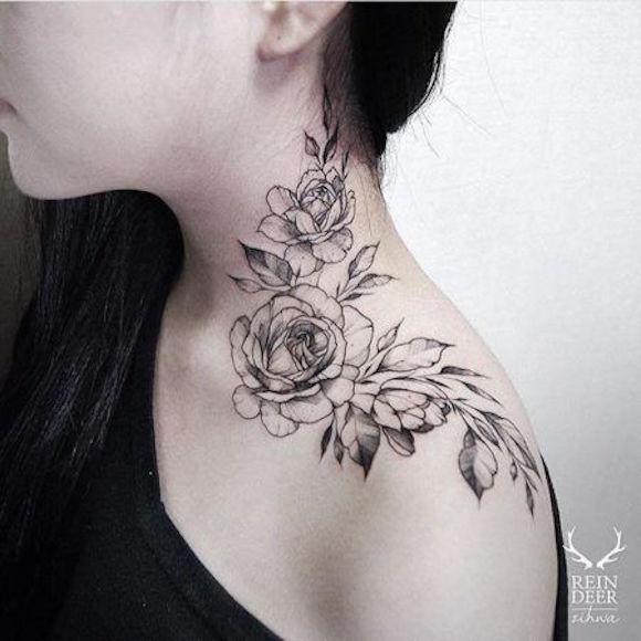tatuagem flores 12