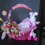 Decoração de cesta de páscoa 008
