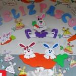 Decoração para sala de aula na páscoa 004