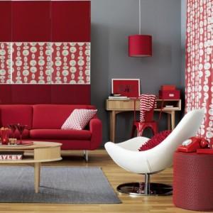 Decorar a sala com tons laranjas e vermelhos 001