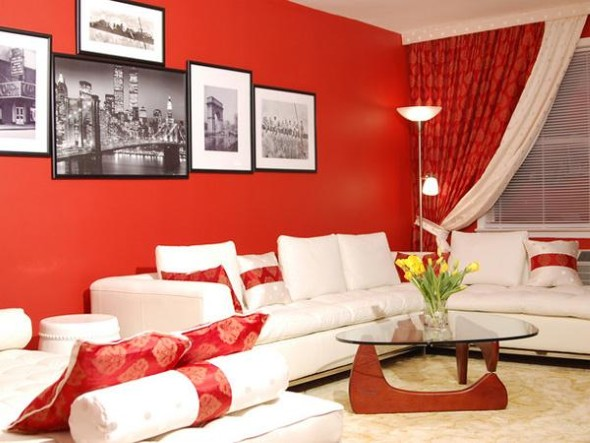 red accessories for living room 4 dicas para decorar a sala tons laranja e vermelhos e 21217