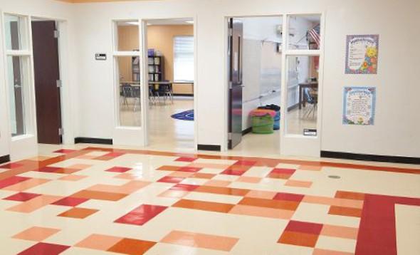Cobrir piso com manta vinílica  010