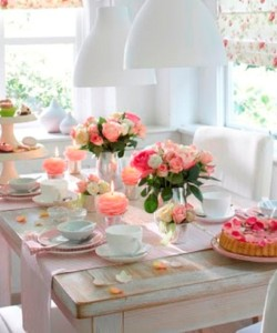 Como decorar a mesa para o Dia das Mães 001