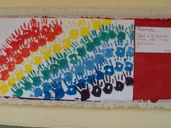 Decoração sala de aula Dia das Mães 004