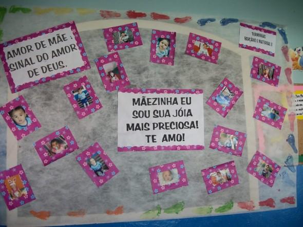 Decoração sala de aula Dia das Mães 010
