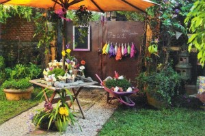 Jardim caseiro em espaço pequeno 001
