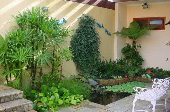 Jardim caseiro em espaço pequeno 010
