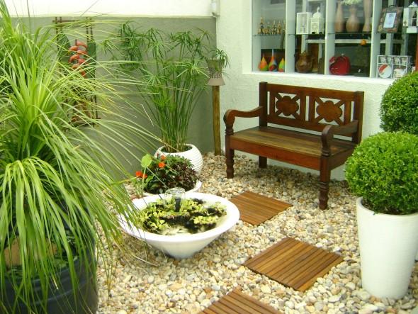 Jardim caseiro em espaço pequeno 011