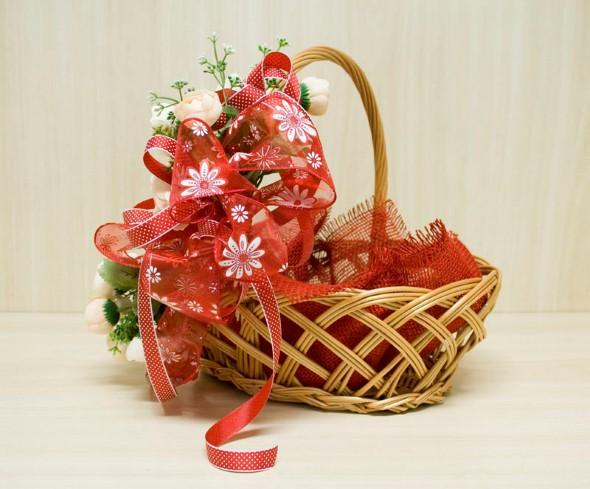 Montar e decorar cesta para o Dia das Mães 001