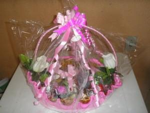 Montar e decorar cesta para o Dia das Mães 002