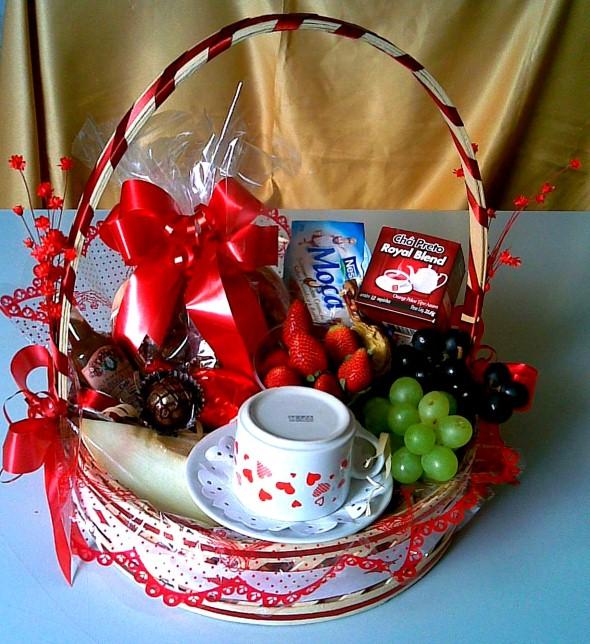 Montar e decorar cesta para o Dia das Mães 003