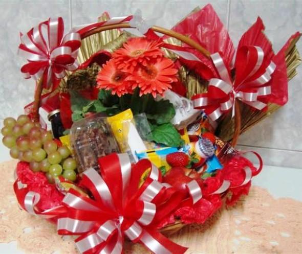Montar e decorar cesta para o Dia das Mães 011