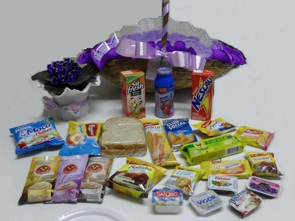 Montar e decorar cesta para o Dia das Mães 014