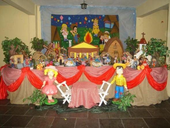 Decoração Festa Junina educação infantil 013