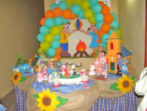 Decoração Festa Junina escola 005