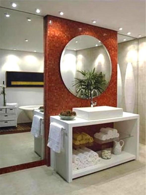 Decoração com espelho decorativo 002