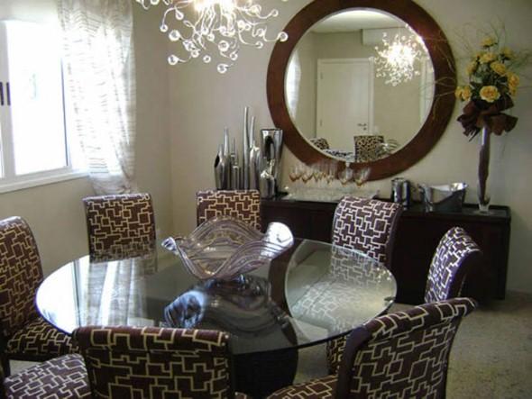 Decoração com espelho decorativo 004