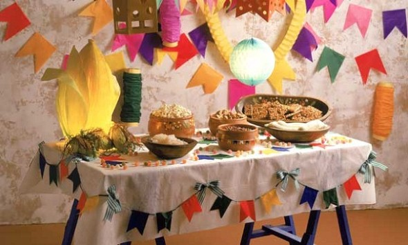 Decoração mesa Festa Junina 002