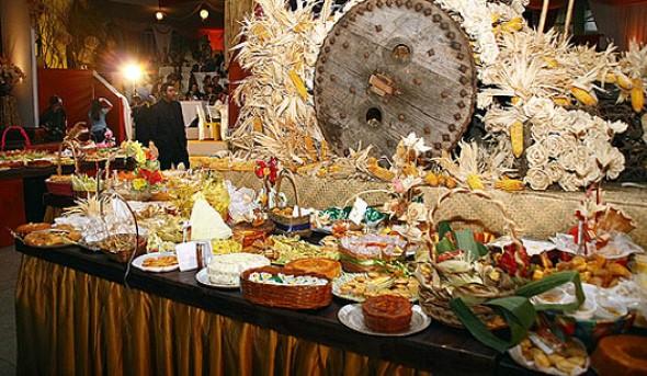 Decoração mesa Festa Junina 011