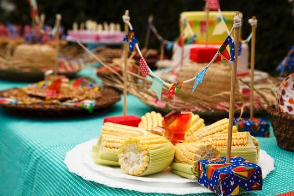 Decoração mesa Festa Junina 012
