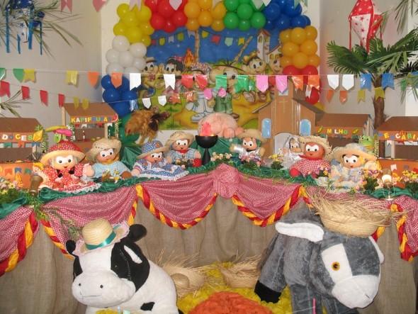 Festa de aniversário com tema junino 006