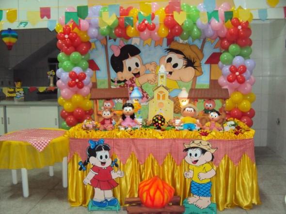 Festa de aniversário com tema junino 007