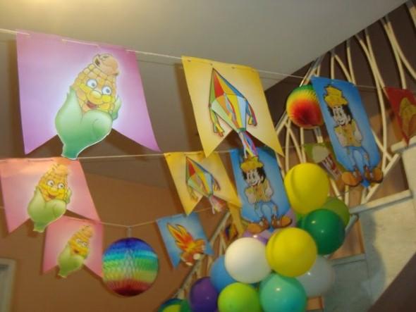 Festa de aniversário com tema junino 014
