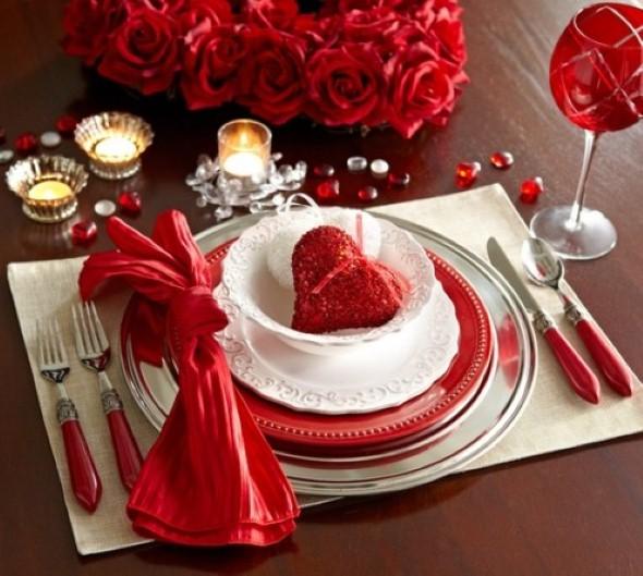 Mesa de jantar Dia dos Namorados 002