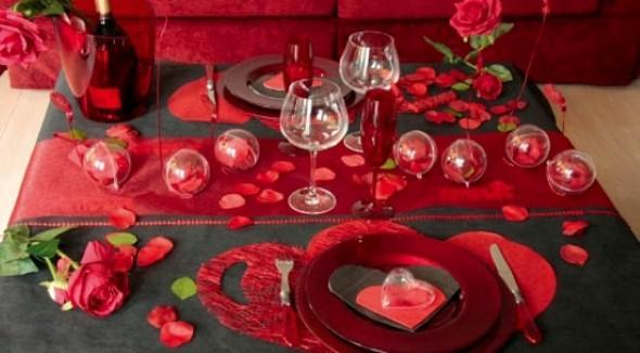 Mesa de jantar Dia dos Namorados 005