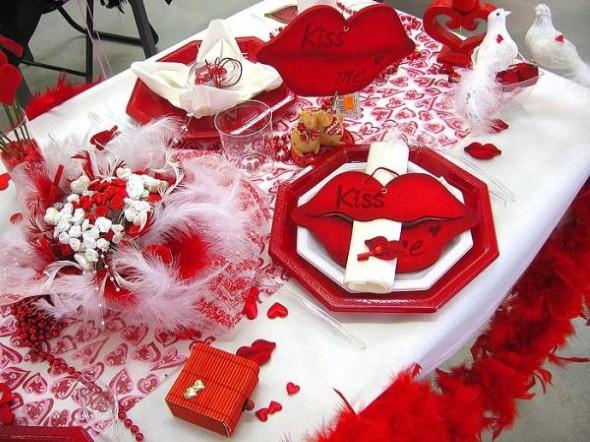 Mesa de jantar Dia dos Namorados 007