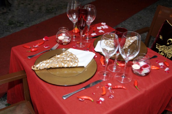 Mesa de jantar Dia dos Namorados 010