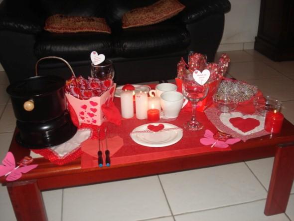 Mesa de jantar Dia dos Namorados 012