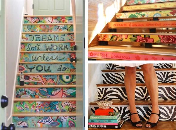 Casa decorada com adesivos personalizados 004