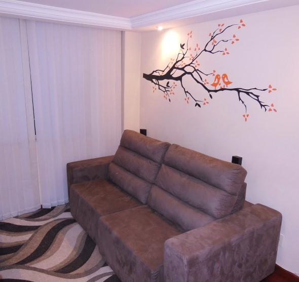 Casa decorada com adesivos personalizados 005